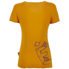 E9 Reve Maglietta Donna, giallo
